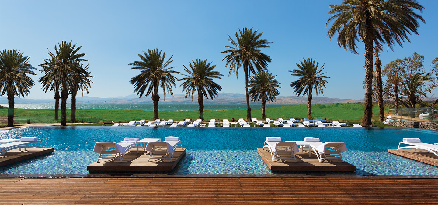 The Setai Sea of Galilee Infinity Pool