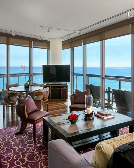 The Setai ocean front suite