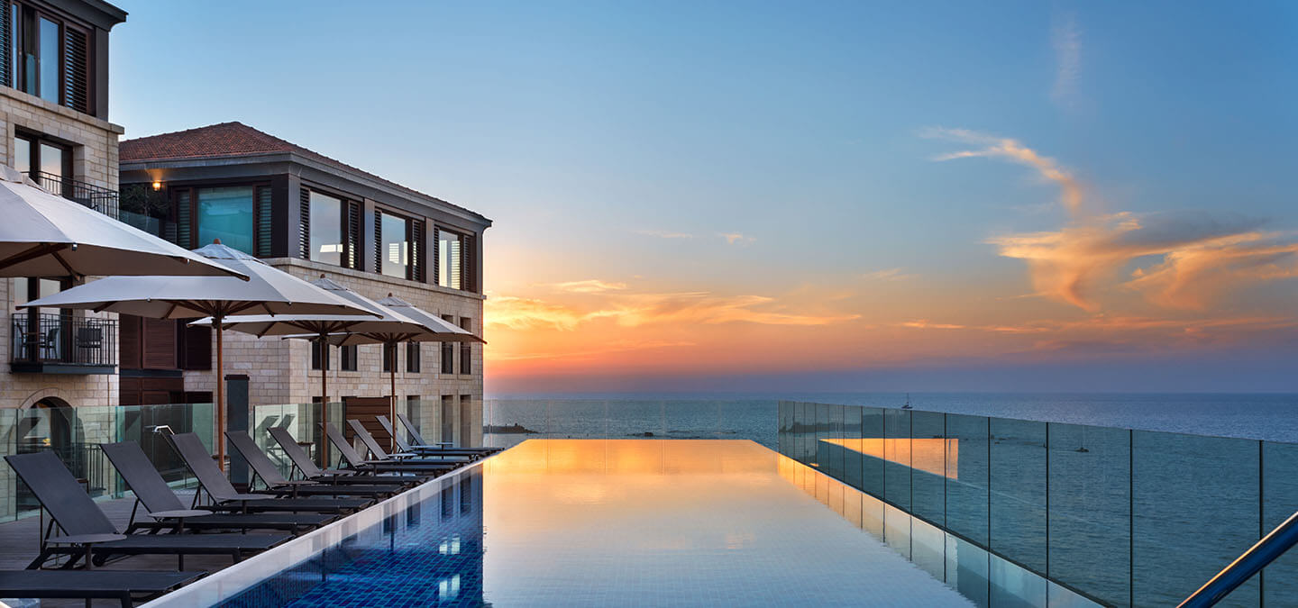 The Setai Tel Aviv Infinity Pool
