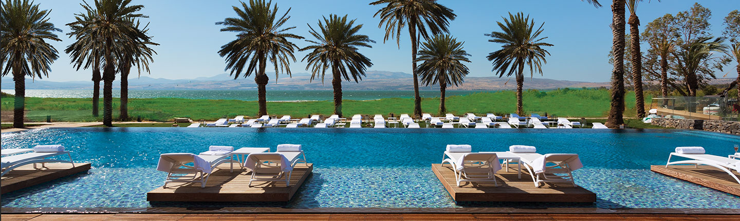 The Setai Sea of Galilee Pool