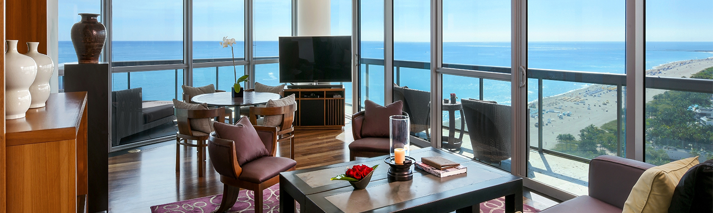 Ocean Suite at the Setai Hotel