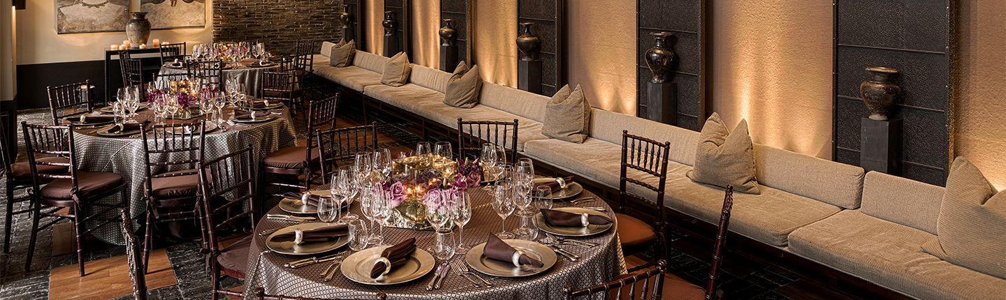 Miami intimate wedding, the setai miami wedding, special event wedding setup