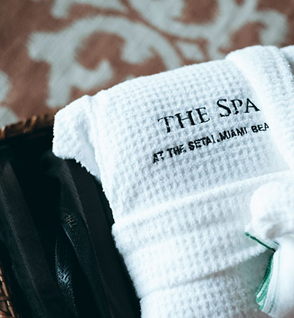 setai spa towel